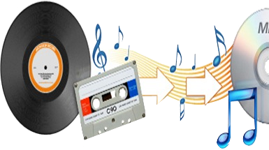 Record and LP to DIGITAL / DVD / CD Transfer Service